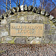 Ballindalloch Lodges Sign